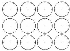 Blank Clock Face Worksheet | Blank Clock Faces Worksheet Ks1 More