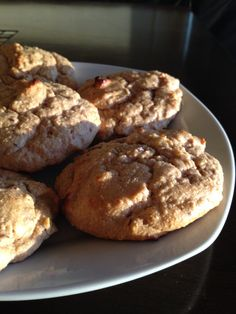 Soft Apple Spice Protein Cookies