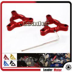 Hot sale Motorcycle 19mm CNC Aluminum Suspension Fork Preload Adjusters Red For Honda CBR600RR CBR1000RR CBR 600RR 1000RR