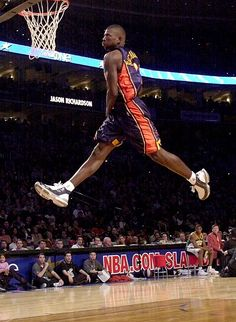 Jason Richardson: Dunk Contest: 2002.