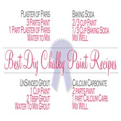 The Top 50 FAQ ~ DIY Chalk Paints