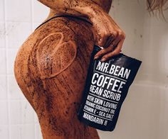 Improve your skin and keep it softer and smoother than ever before with this organic skin care product the Mr Bean Organic Coffee Bean Body Scrub. The Caffeine in the Mr Bean's Organic Coffee Bean Body Scrub will stimulate blood… Coffee Cellulite Scrub, Coffee Face Scrub, Mr. Bean, Organic Coffee Beans, Coconut Oil Body Scrub, Natural Coffee, Diy Scrub, Face Scrub Homemade, Exfoliating Scrub