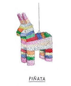 piñata by raquel gonzález
