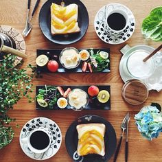 Food Plating, Japanese Food, Food Styling, Yummy Food, Healthy Recipes, Meals, Cooking, Breakfast, Kitchen