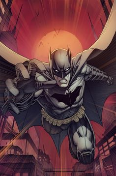Batman # 9 variant cover (Dale Keown)
