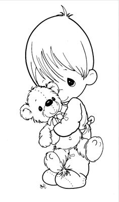 Precious Moments Coloring Book - Precious Moments Coloring Pages : KidsDrawing – Free Coloring Pages Online
