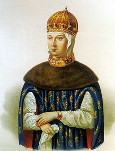Maria Ilyinichna Miloslavskaya (Russian: Мария Ильинична Милославская, 1625–1669) was the first wife of tsar Alexis of Russia and mother of the tsars Feodor III of Russia and Ivan V of Russia, and regent princess Sophia Alekseyevna.