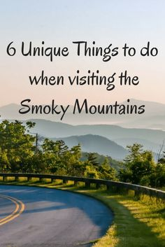 6 Unique Things to do when Visiting the Smoky Mountains This post is sponsored by Moon Travel Guides. All opinions and tips given are as always, my own. Smoky Mountain National Park is a natural magnet for those in the midwestern states, like those of Gatlinburg Vacation, Gatlinburg Tennessee, Tennessee Vacation, Vacation Trips, Vacation Spots, Family Vacations, Vacation Ideas, Nashville Vacation, Dream Vacations