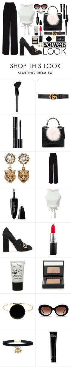 """""""2081"""" by thecaitlinpeters ❤ liked on Polyvore featuring Old Navy, Gucci, Christian Dior, Les Petits Joueurs, Naeem Khan, Maybelline, WithChic, MAC Cosmetics, Hot Topic and NARS Cosmetics"""