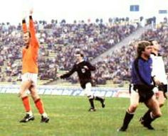 Holland 5 Austria 1 in 1978 in Cordoba. Willy van de Kerkhof made it 5-1 on 82 minutes in Round 2, Group A at the World Cup Finals.