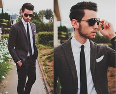 Edward Honaker - one of my favorite look book users for men's personal style.