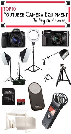 An experienced beauty vlogger gives a rundown of all the studio equipment she uses to make videos. Lights, camera, and photoshop. Youtube Hacks, You Youtube, Youtube Setup, Grace Youtube, Youtube Editing, Vlogging Equipment, Camera Equipment, Studio Equipment, Dslr Photography Tips