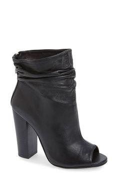 Kristin Cavallari 'Liam' Peep Toe Bootie (Women) available at #Nordstrom