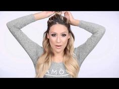 Half-Up Ponytail Hair Tutorial - YouTube