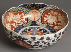 "Imari....this is my personal color palette...occasionally I stray a little (variations of blue with yellow, brown, etc), but it all comes back to this for me. I've been in love since my teens, ""antiquing"" with my mother."