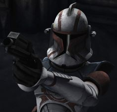 """CC-3714 (""""Fil"""") is a veteran clone trooper commander who served in the Grand Army of the Republic during the Clone Wars. Fil was assigned to promoted Jedi Knight Nahdar Vebb during the Clone Wars. In 22 BBY, he led a squad of clone troopers on a mission to the third moon of Vassek, in the Outer Rim Territories."""