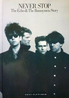 """Never Stop: Official """"Echo and the Bunnymen"""" Biography by Tony Fletcher ... (2016/03/28)"""
