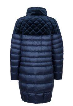 Синий комбинированный пуховик DIEGO M - заказать в интернет-магазине дорогой одежды Элитс по цене 73900 руб. Доставка по всей России. Звоните +7 (800) 200-1691. Артикул C414.1TM.