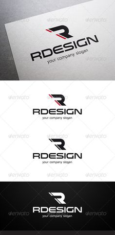 Rdesign R Letter Logo V2 #GraphicRiver Description Rdesign R Letter Logo is a multipurpose logo. This logo can be used by tuning companies, etc. What's included? 100% vector AI and EPS files CMYK Fully editable – all colors and text can be modified Layered 3 color variations Font Fonts used: Venera Maven Pro Don't forget to rate if you like! Created: 5 December 13 Graphics Files Included: