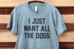 ALL THE DOGS- Short Sleeve Shirt - Treat Dreams - 1