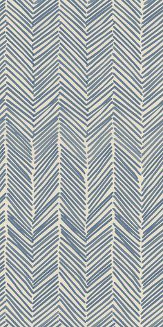 Freeform Arrows in navy Art Print