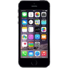 """Sou Barato iPhone 5S 16GB Cinza Espacial Tela 4"""" IOS 8 4G Câmera de 8MP - Apple - R$1709,10 em 6x"""