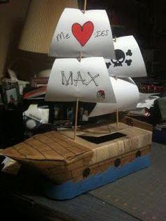 Sarah's Scraptherapy: Valentine Box (ship)