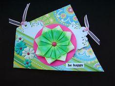 Márcia - cartões: Be happy!