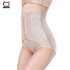 f8bab52a01ed4 Women Butt Lifter body Shaper Tummy Plus Size Control Panties Shapewear  Thongs Underwear booty tummy enhancer High Waist Belt