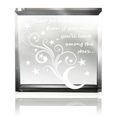 Amazon.com - Kate Posh - Shoot for the moon, even if you miss, you'll land among the stars ... Keepsake & Paperweight -