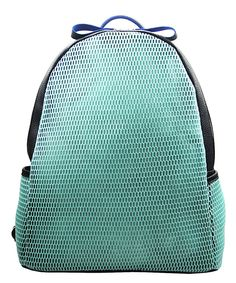 Look what I found on #zulily! Aqua Mesh Backpack by Pink Haley #zulilyfinds