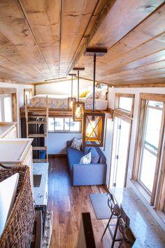 The Teton from Alpine Tiny Homes, a stunning tiny house on wheels.