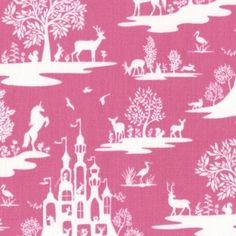 Dear Stella House Designer - Pixie Dust - Fairy Toile in Fuchsia (phuksai) ~ easy like sunday morning 10.18