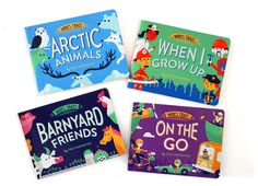 Two New Who's That? Board Books! | Carpenter Collective