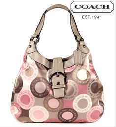 COACH Soho Large Snaphead Hobo Magnetic