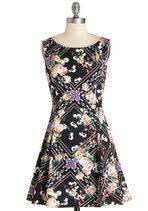 Dance Flourish Dress | Mod Retro Vintage Dresses | ModCloth.com