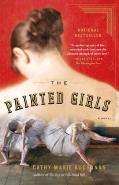 The Painted Girls: A Novel - Wonderful if you love the city of Paris, history, Degas and ballet.  Many of my favorite things all in one amazing novel.  You will fall in love with the relationships in this book.