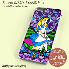 Alice Stained Glass Phone case for iPhone 6/6s/6 Plus/6S plus