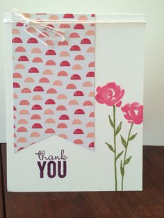 Painted Petals Stampin up Occasions catalog 2015