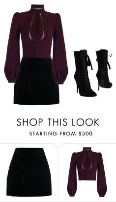 """""""Untitled #969"""" by mollface ❤ liked on Polyvore featuring Carven and Balmain"""