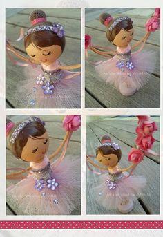 CLOTHESPIN DOLL  Ballerina
