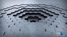 http://goo.gl/3wlizS on VideoHive by simlos: Hexagon World Logo Reveal.