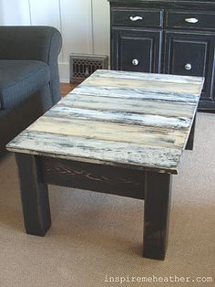 DIY::COFFEE TABLE