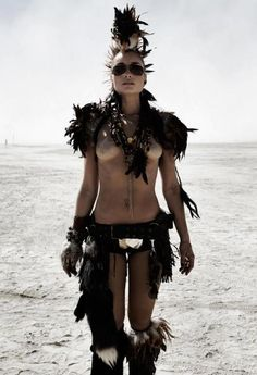 Burning Man Festival - Crazy outfits.