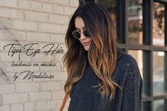 Tiger Eye Hair, las mechas para morenas y castañas tendencia 2016