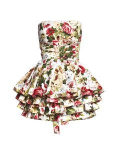 Lukrecja in bloom apron - COOKie - See it on FormAdore.com