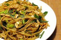 Thai Sesame Noodles -vegan