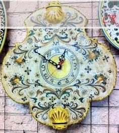 Orologio vaghezza e gentilezza | Ceramiche Rinascita