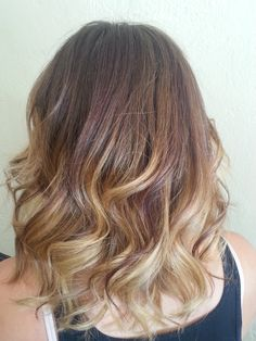 Ombre Balayage Medium Hair Lisa Marie Owens
