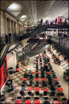 Washington DC Union Station is like a city in it's own with all the shops and…